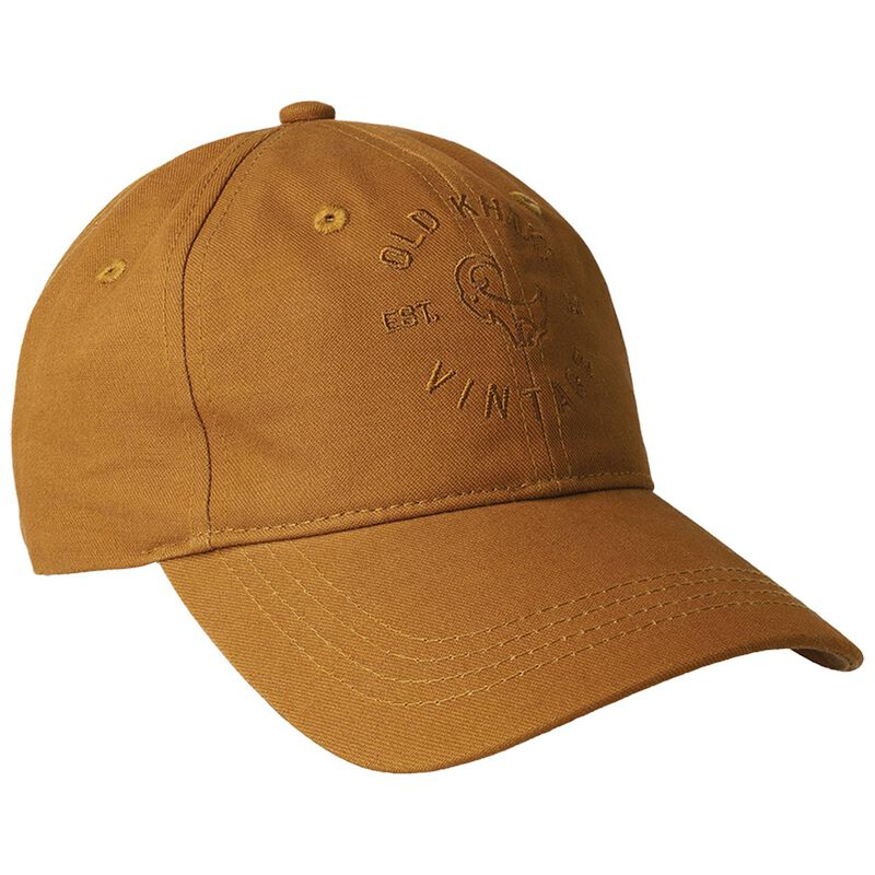 Abram Branded Peak Cap -  brown