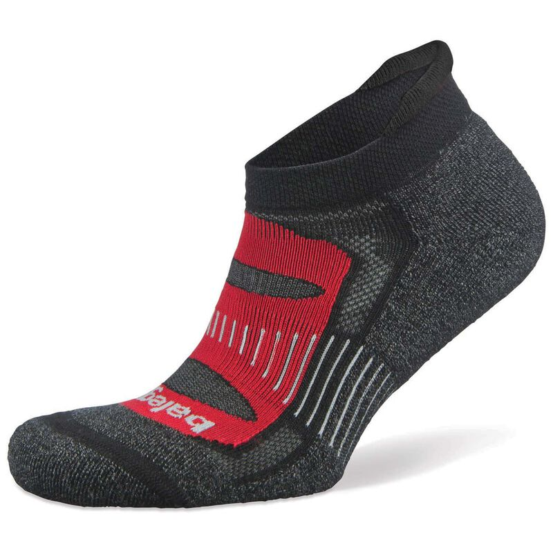 Balega Blister Resist No Show '19 Sock -  black-red