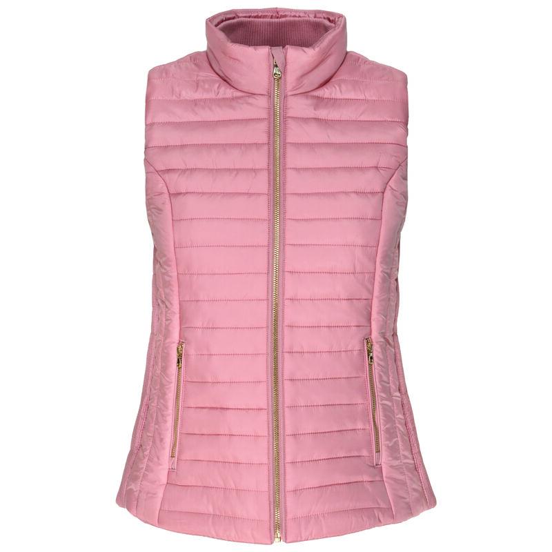 Rare Earth Women's Senna Sleeveless Puffer Jacket -  pink