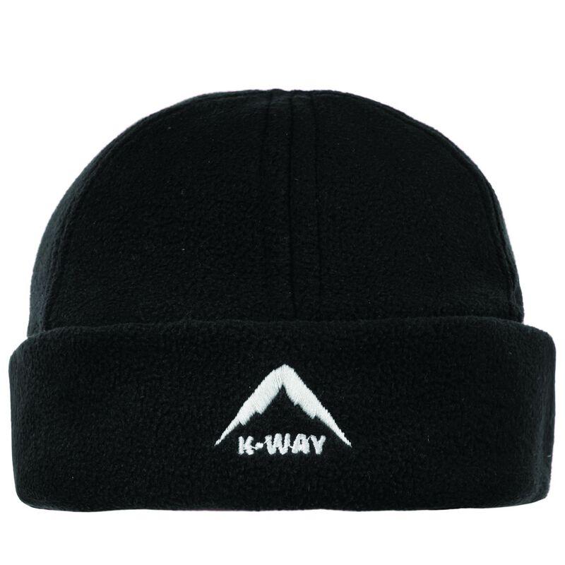 K-Way Fleece Beanie -  black