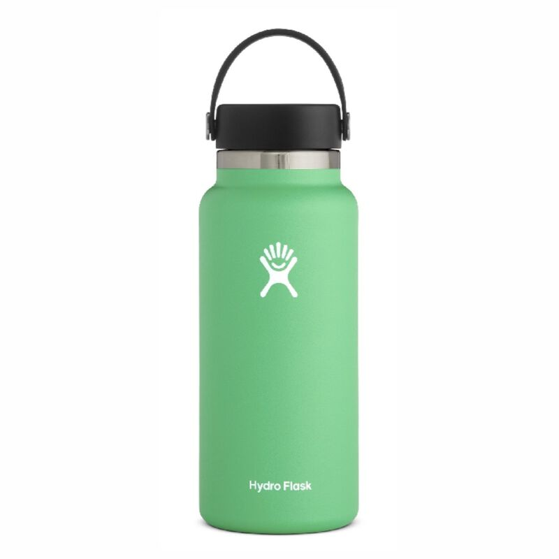 Hydroflask 946ml Wide Mouth Flask -  lightgreen