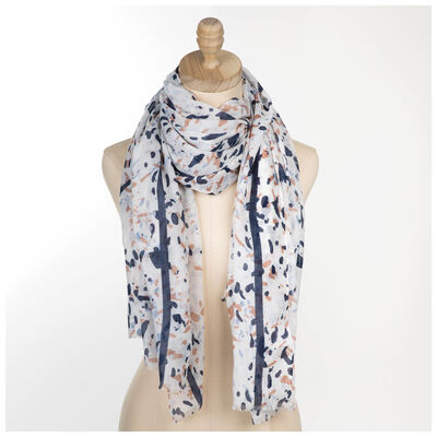 Rare Earth Women's Joanna Painted Dot Scarf