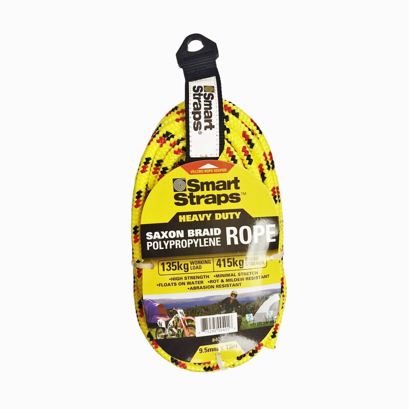 SmartStraps 9.5mm x 15m Rope -  assorted