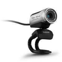 Ausdom AW615 1080P Wide View PC Web Cam  -  silvergrey