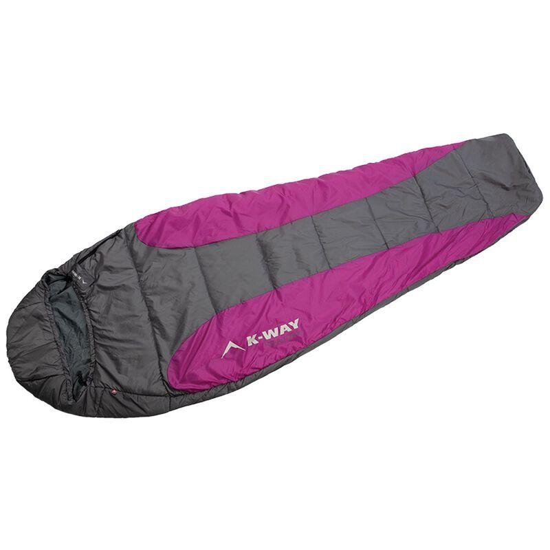 K-Way Chamonix 850 Eco Sleeping Bag -  berry