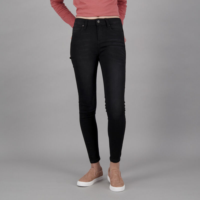 Old Khaki Women's Poppi Skinny Denim  -  black