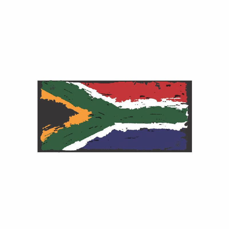Buff® Custom SA Flag -  assorted