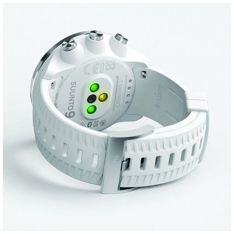 Suunto 9 Baro Watch -  white-silver