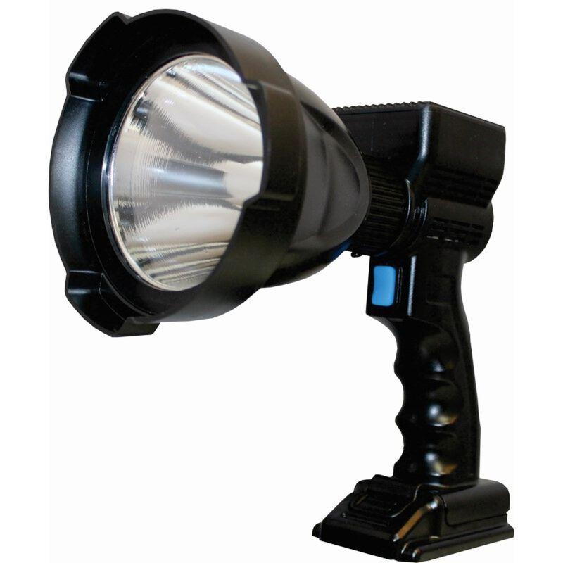 GamePro Marsh 6500 Lumen Rechargeable Spotlight -  black