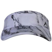 K-Way Men's Rush Printed Visor -  black-white