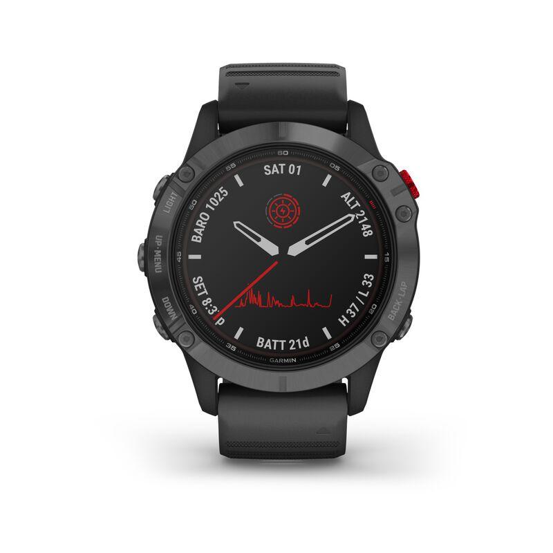Garmin Fenix 6 Pro Solar -  black-grey