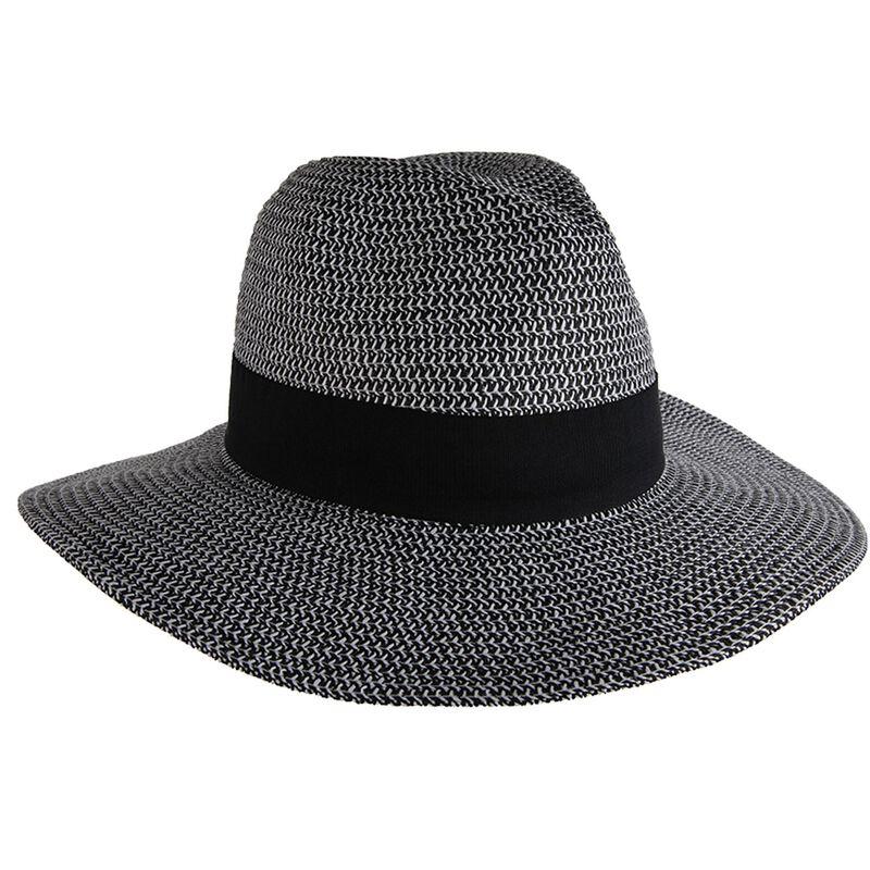 Cape Union Women's Camilla Straw Hat -  black-white