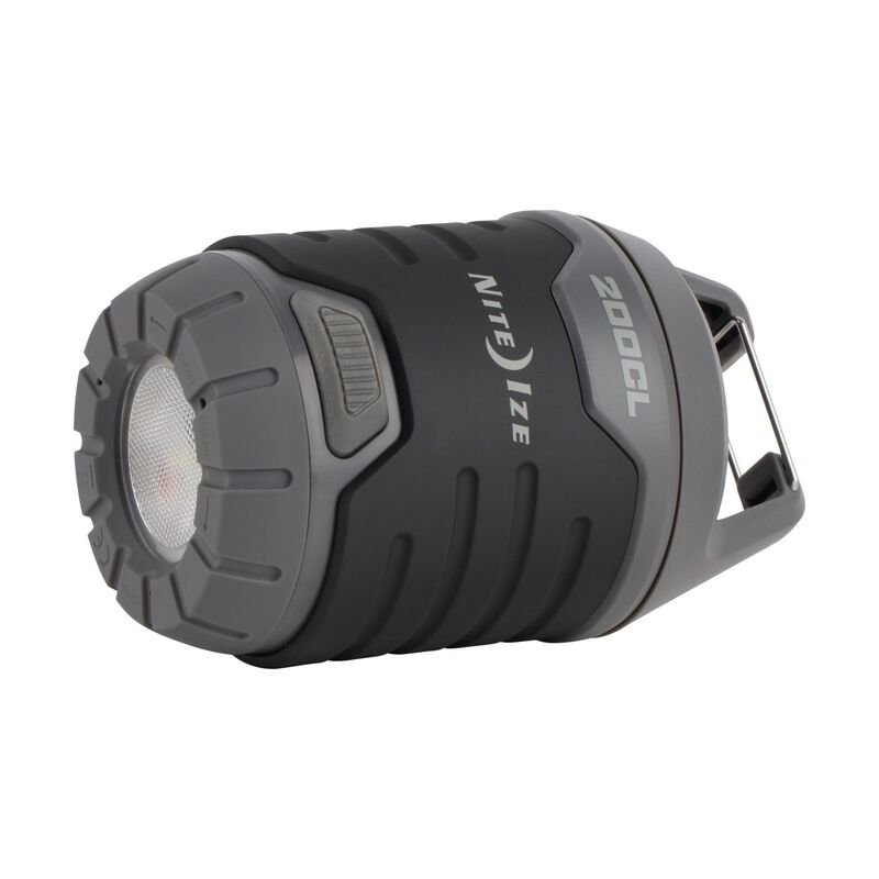 Nite Ize Radiant 200 Collapsible Lantern and Flashlight -  black