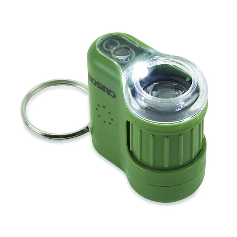 Carson 20x Micromini Pocket Microscope -  green