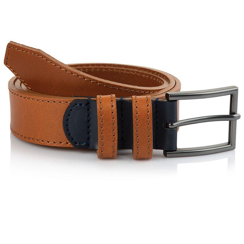 Arthur Jack Men's Hewitt Belt -  tan-navy