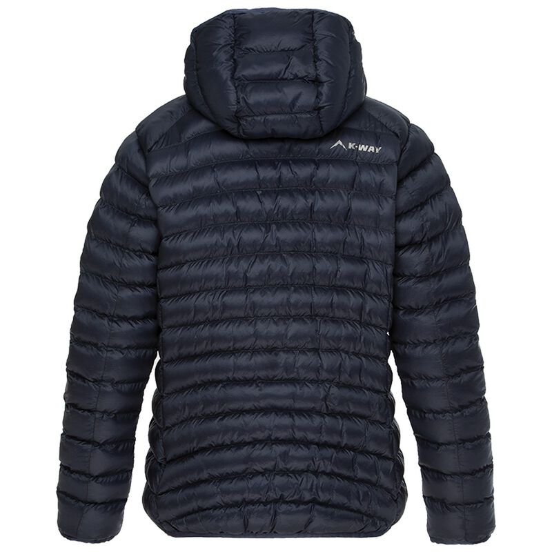 K-Way Women's Raven Eco Padded Jacket -  midblue