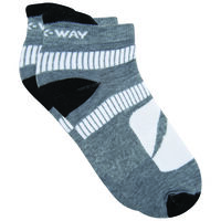 K-Way Active '19 Sock -  grey-white