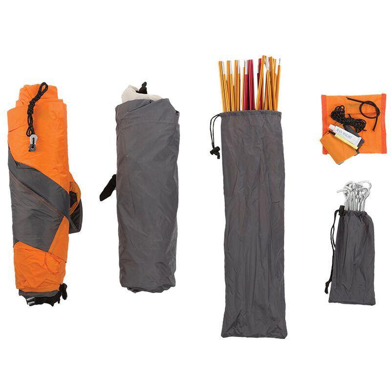 K-Way Nerolite Three-Person Tent -  orange