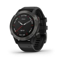 Garmin Fenix 6 Sapphire Fitness Watch -  grey-black