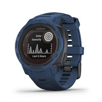 Garmin Instinct Solar Fitness Watch -  blue