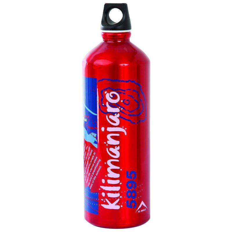 Laken 1L Kilimanjaro Futura Bottle  -  red