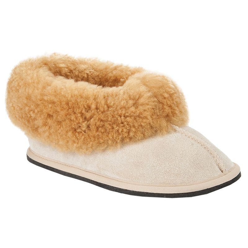 Cape Union Women's Sheepswool Classic Slipper -  camel