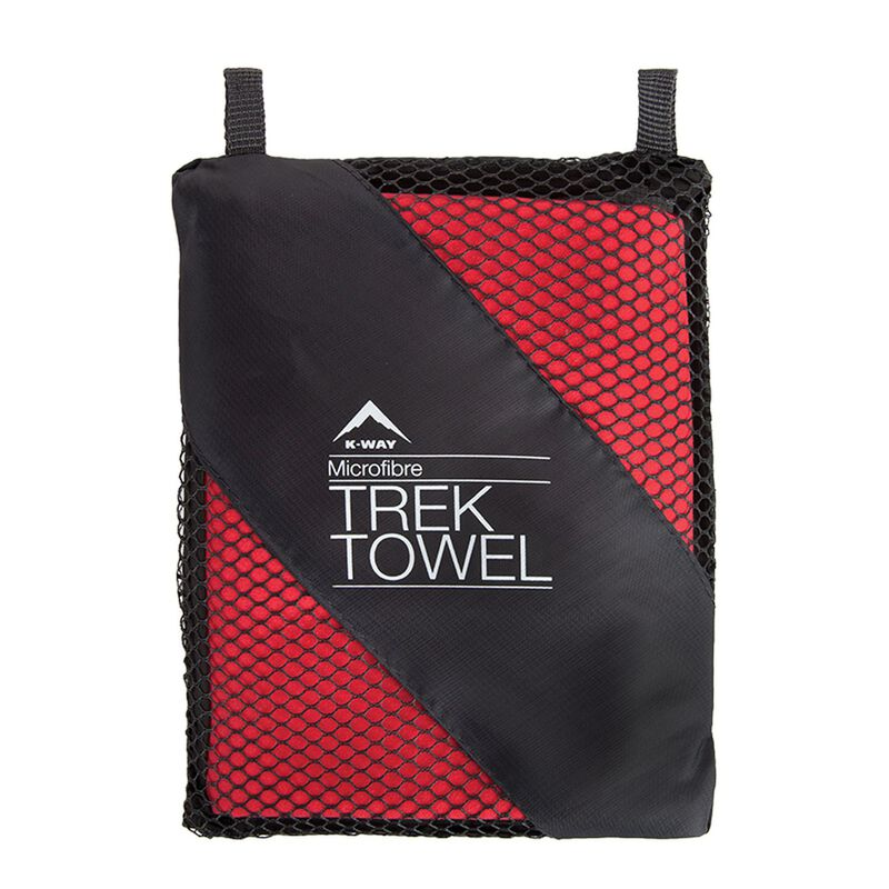 K-Way Trek Towel L -  oxblood