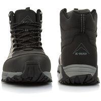 K-Way Men's Edge 2 Boot  -  black-black