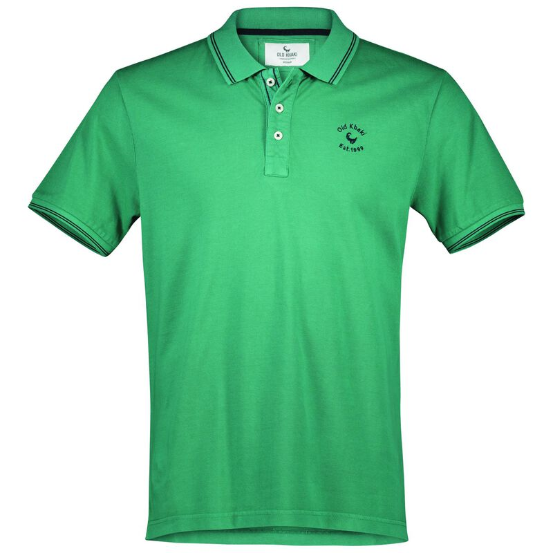 Old Khaki Men's Dean Relaxed Fit Golfer -  emerald