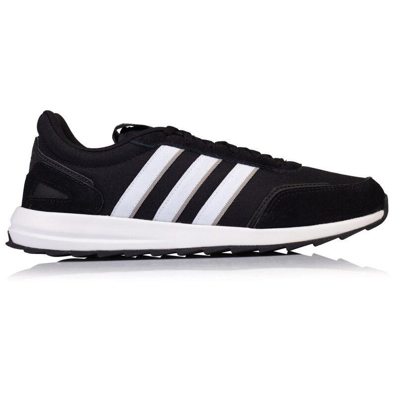 Adidas Men's Retrorun Classic Sneaker -  black-white
