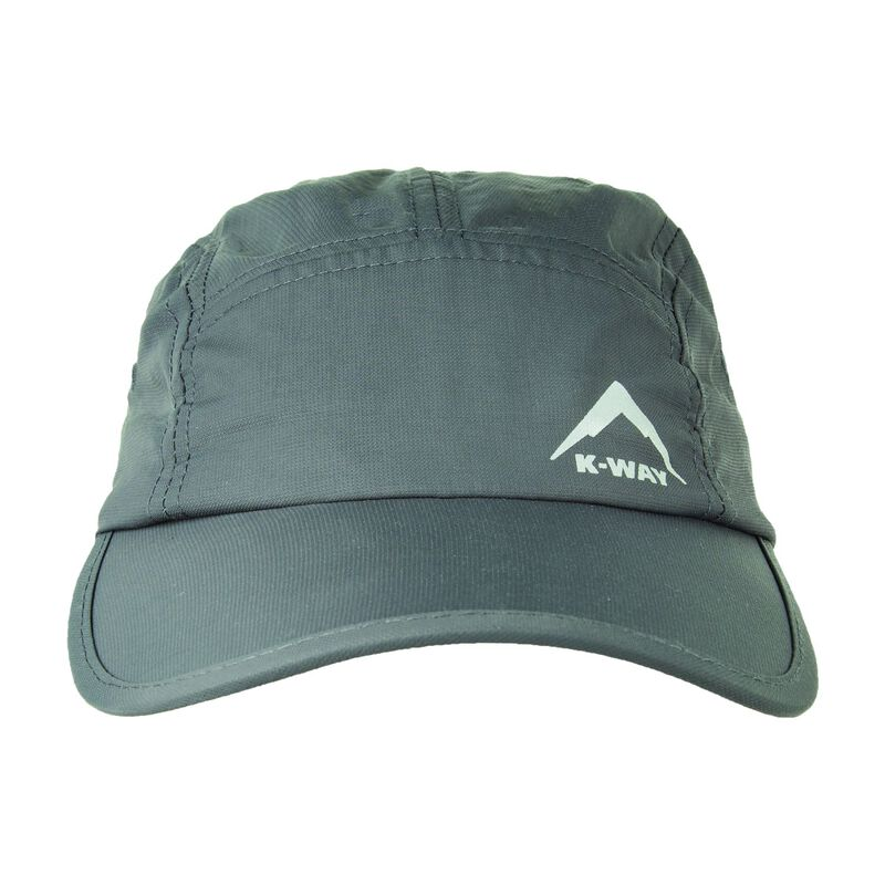 K-Way Men's Quake Peak Cap -  charcoal
