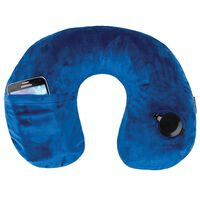 Travelon Deluxe Inflatable Pillow -  cobalt