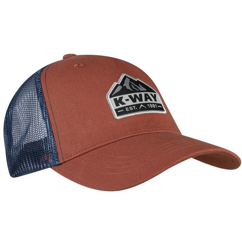 K-Way Scout Trucker Cap -  rust-teal