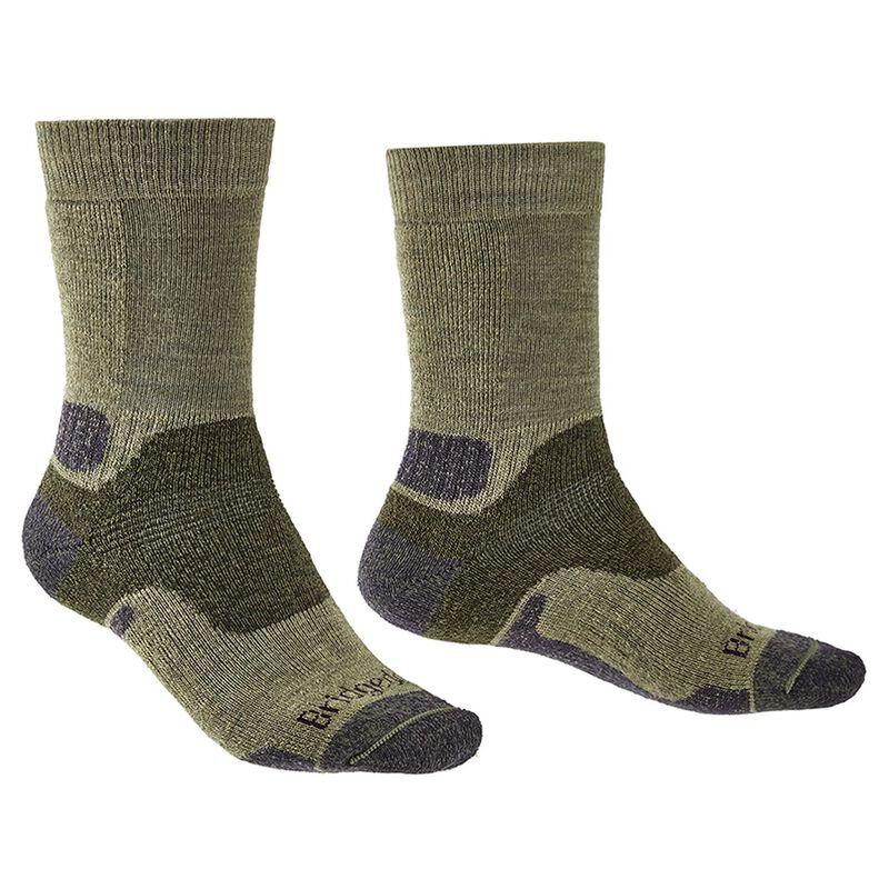 Bridgedale Men's Hiking Midweight Endurance Sock -  darkgreen