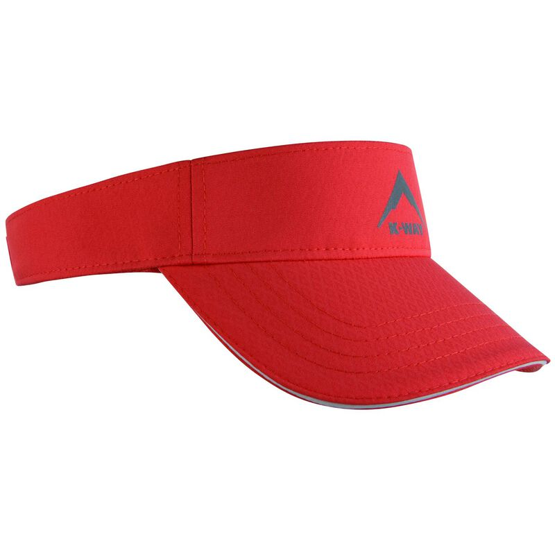 K-Way Flash Visor Cap -  coral