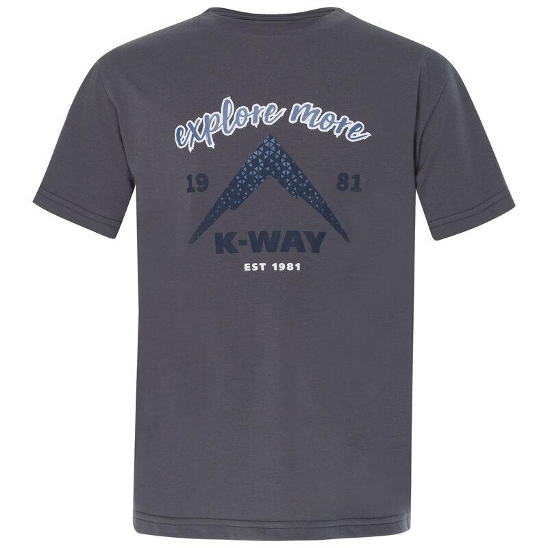 K-Way Youth Kai T-Shirt -  charcoal