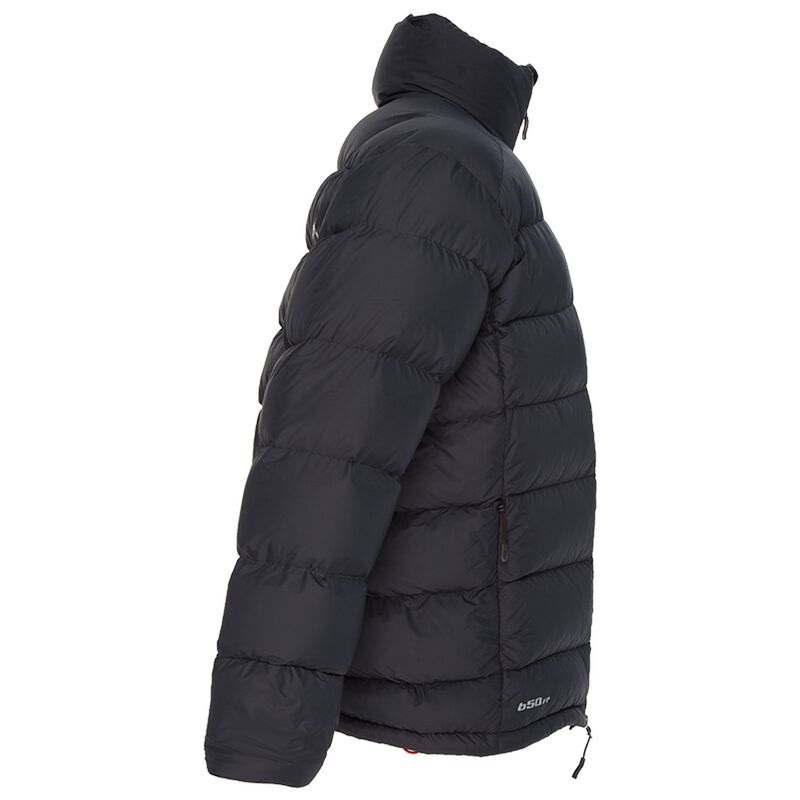 K-Way Men's Siberia '18 Down Jacket -  black-black