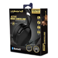 Volkano Silenco Over-Ear Headphones -  black