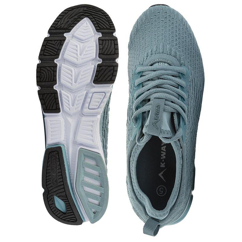 K-Way Women's Flex Lite 2 Shoe  -  teal-white