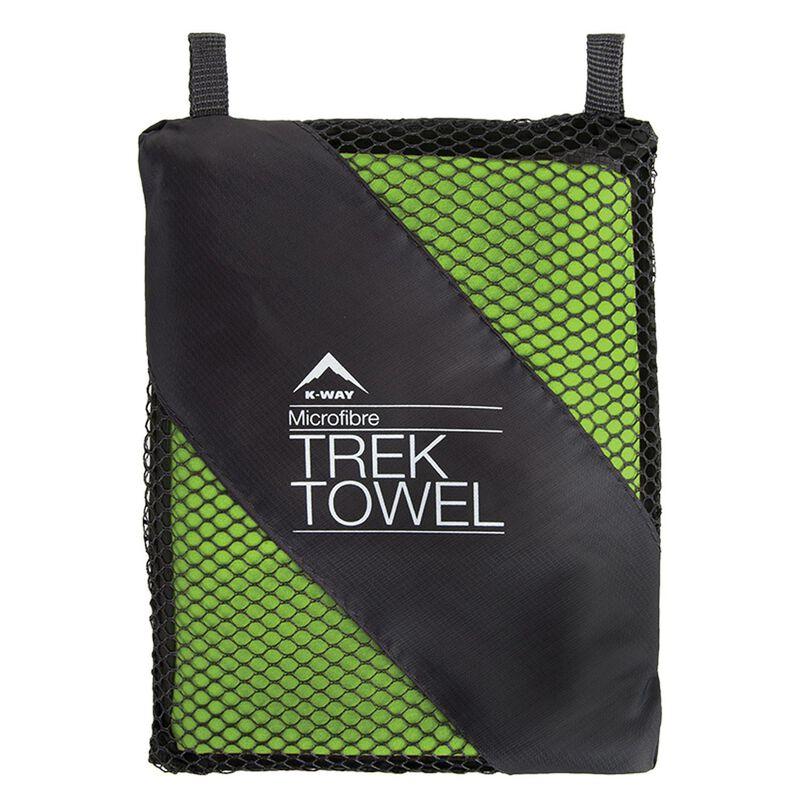 K-Way Microfibre Trek Towel (Extra-Large) -  lime