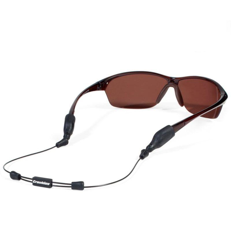 Croakies Arc Endless  XL & XXL 40cm Glasses Cord Combo  -  black