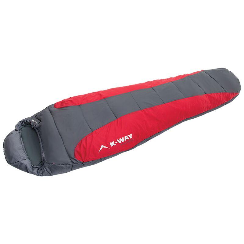 K-Way Zermatt 950 Eco Sleeping Bag -  red