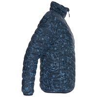 K-Way Women's Printed Tundra Down Jacket -  navy