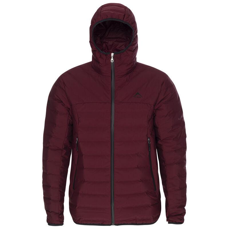 K-Way Men's Harlow Down Jacket  -  oxblood