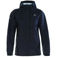 K-Way Women's Cloudburst Jacket -  black-aqua