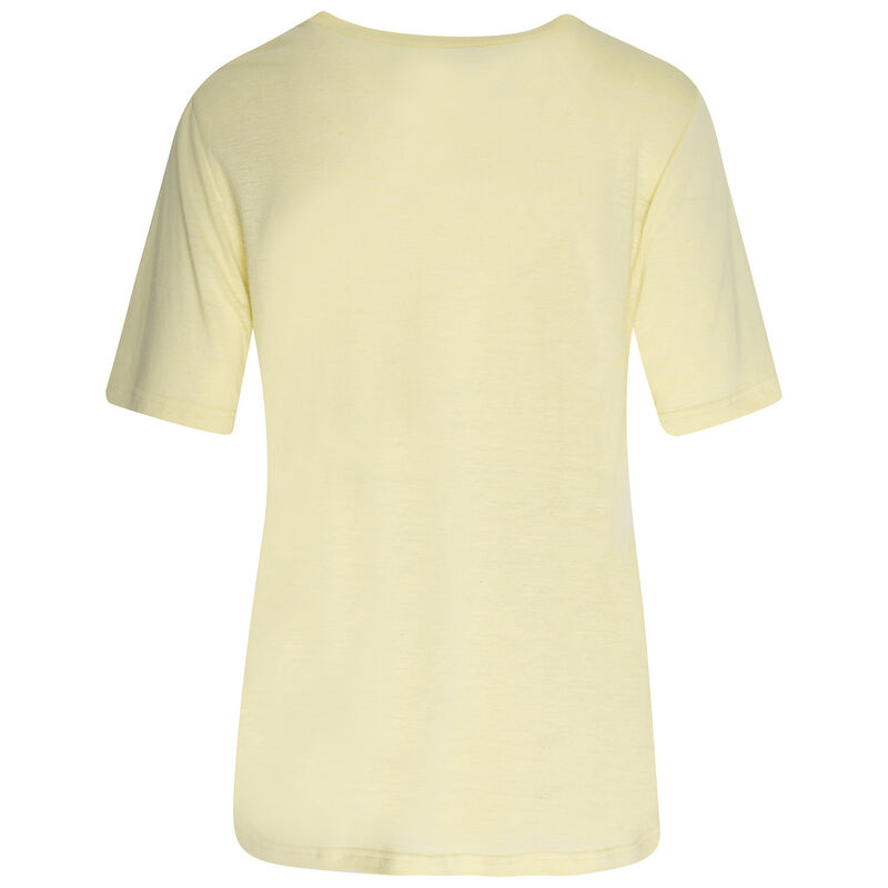 Rare Earth Rose T-Shirt -  lemon