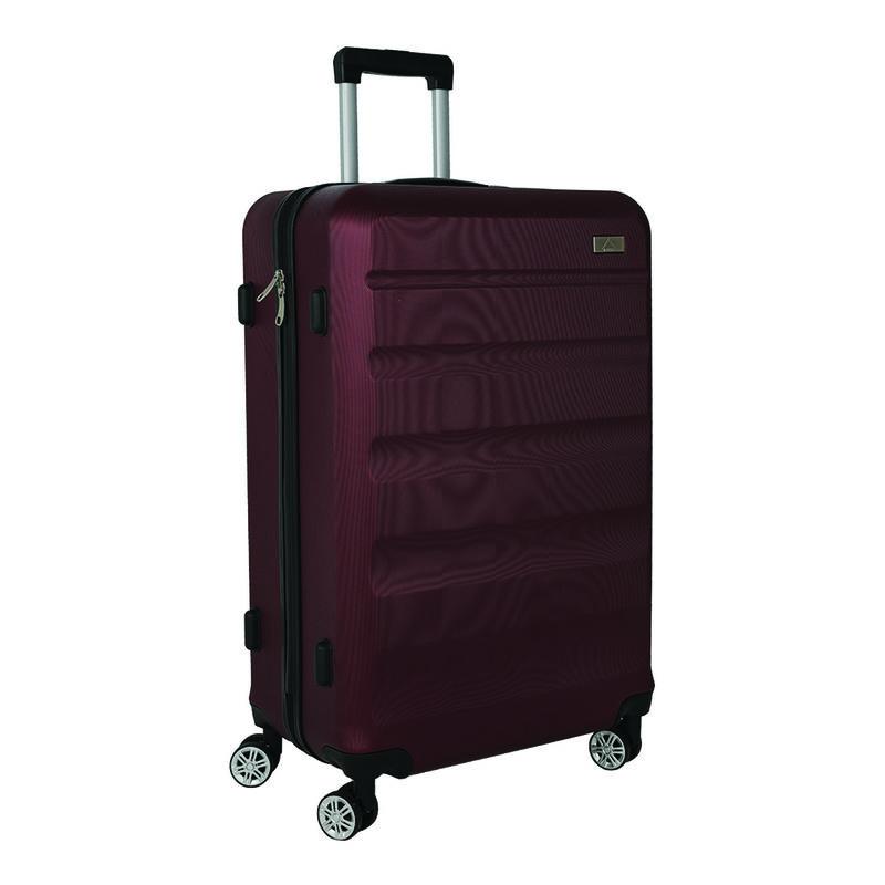 K-Way Spinner 2 Large Luggage Bag -  burgundy