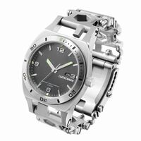 Leatherman Tread Plus Silver Watch -  silver
