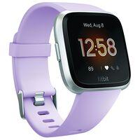 Fitbit Versa Lite Watch -  lilac-silver