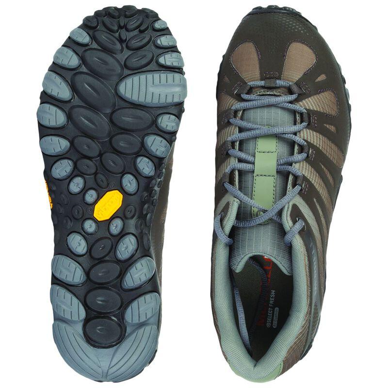 Merrell Men's Chameleon 2 Flux Hiking Shoe -  olive-darkolive